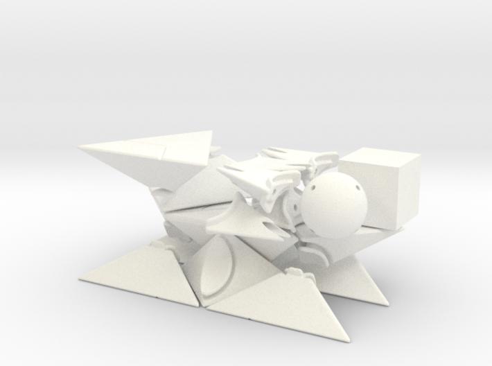Jumble Prism 3d printed