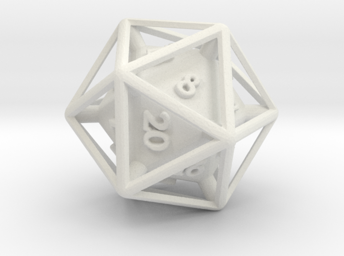 D20 Cased 3d printed
