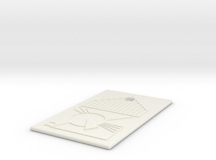 PeaceKeeper IdentChip 3d printed