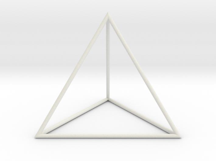 Tetrahedron 100mm 3d printed