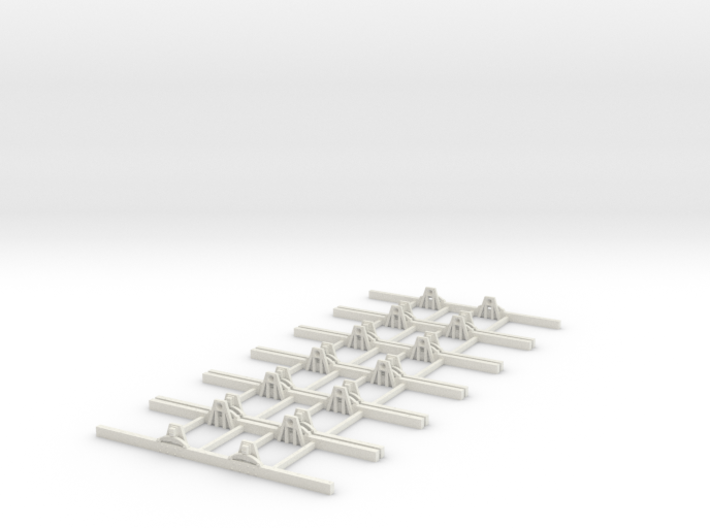 Sn2 Underframe 4ft 6 wb x6 3d printed