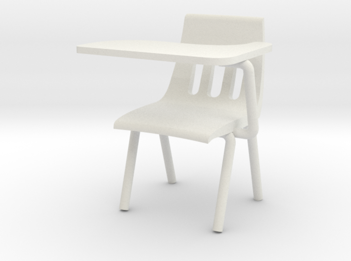 1:24 Scale - Classroom Chair 3d printed