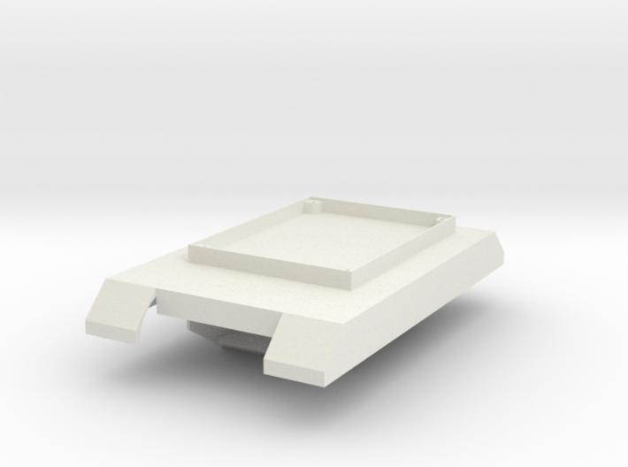 Boe-bot Tank Frame 3d printed