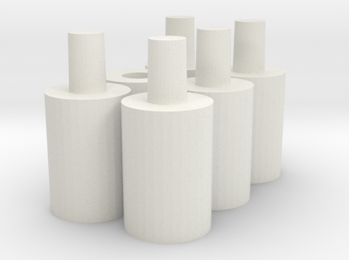 Bomber pegs (6) 3d printed
