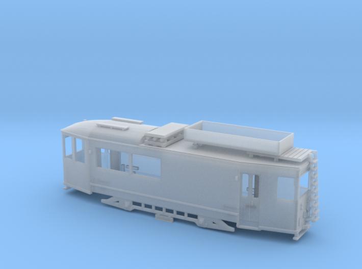 """Arbeitstriebwagen """"Thüringer Waldbahn"""" Spur N (1: 3d printed"""