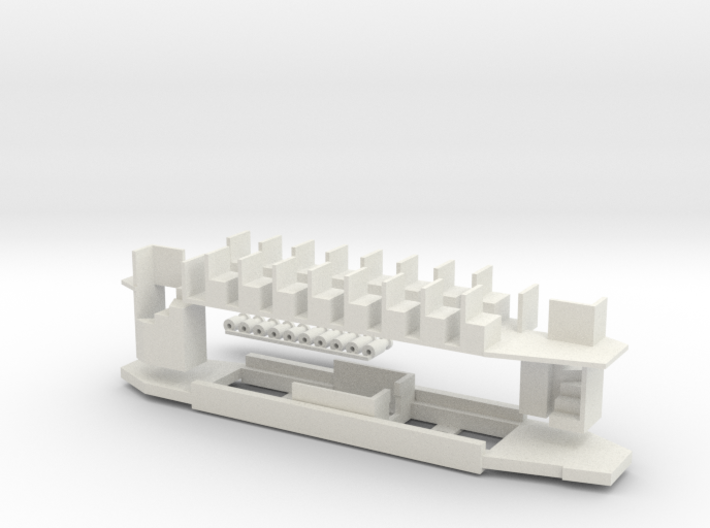 Chassis Glasgow Coronation 00 / 4mm 3d printed