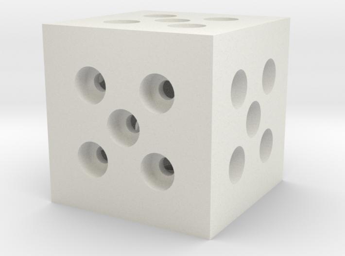 Building Block 1x1 3d printed