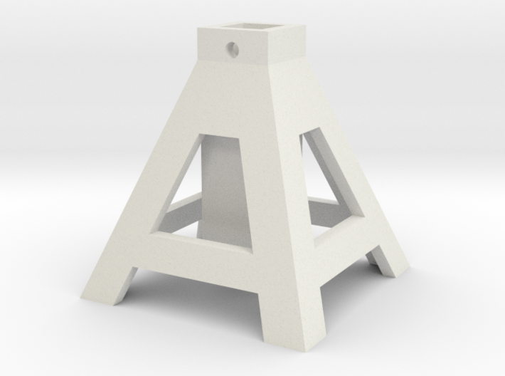 axlestand base1 8 3d printed