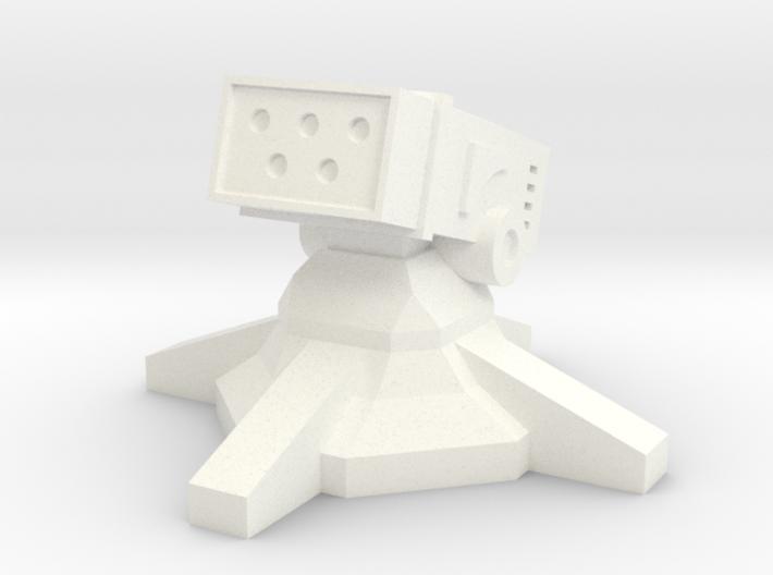 Missile Turret (1/160) 3d printed