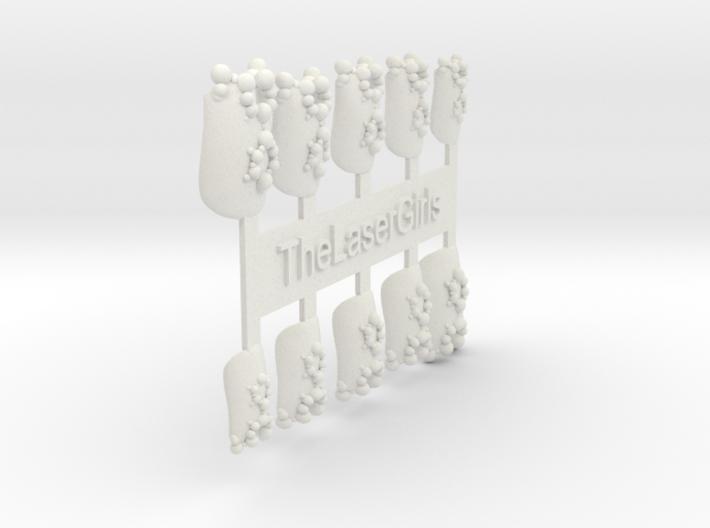 New Element Nails 3d printed