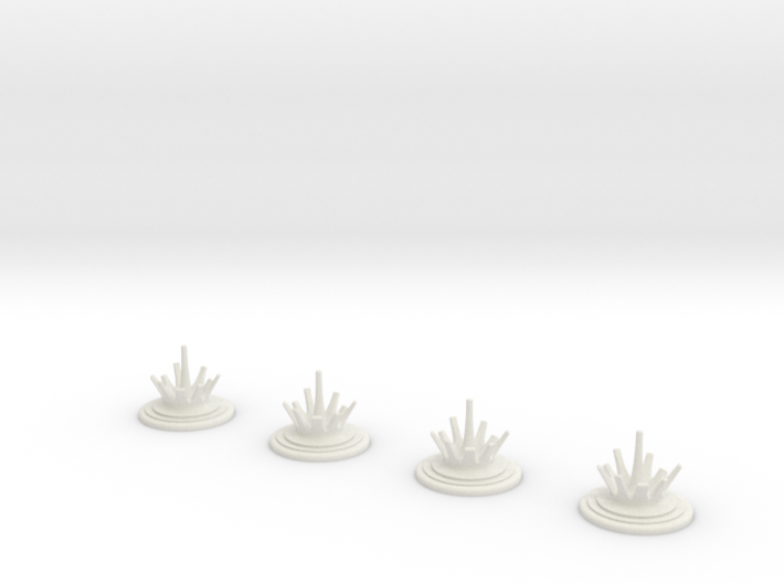 ASW splash counters 3d printed