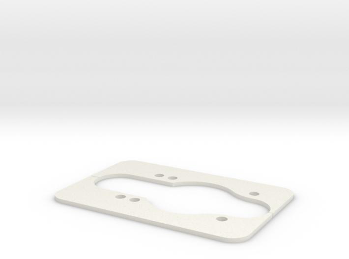 Longboard Dropthrough Template 3d printed