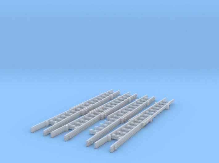 Steckleiter Teil B 2+2tlg mehrfach 3d printed