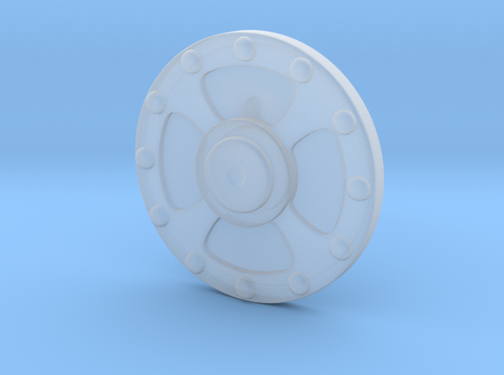 He-Man's Shield scaled for Minimates 3d printed