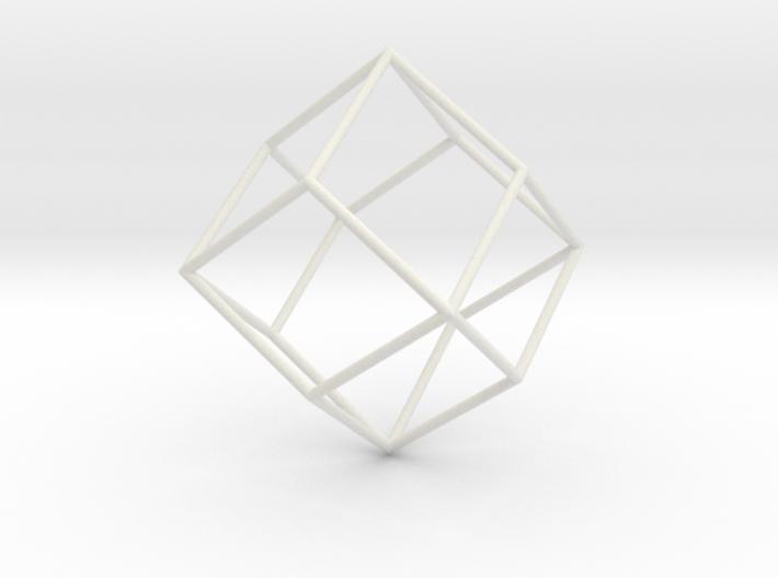 RhombicDodecahedron 70mm 3d printed