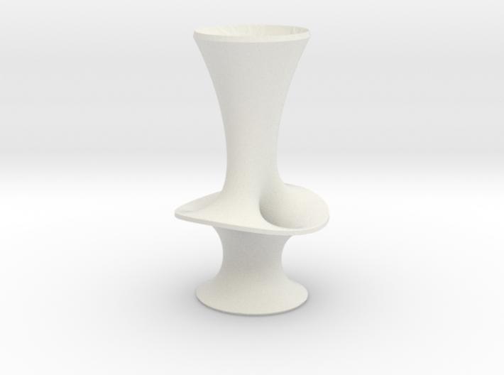 "Costa Vase - 7"" 3d printed"