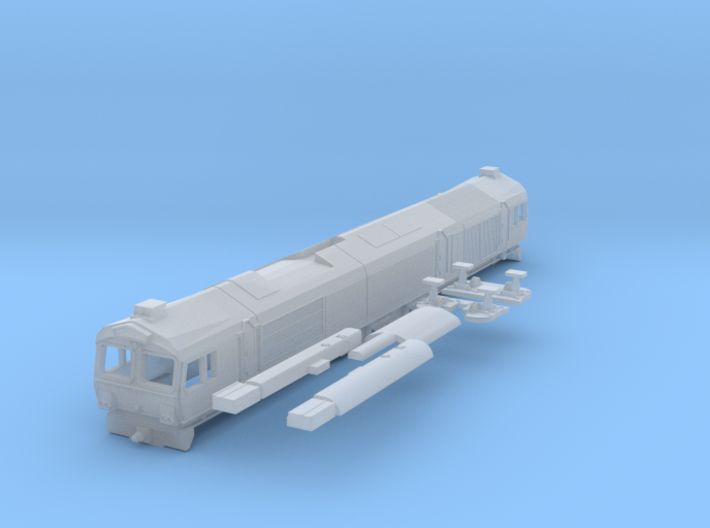 EMD Class 77 - Z - 1:220 3d printed