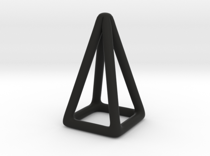 Pyramid Wireframe 3d printed