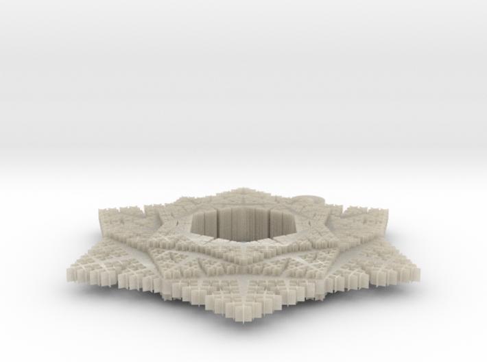 Cesaro Snowflake - 5 3d printed