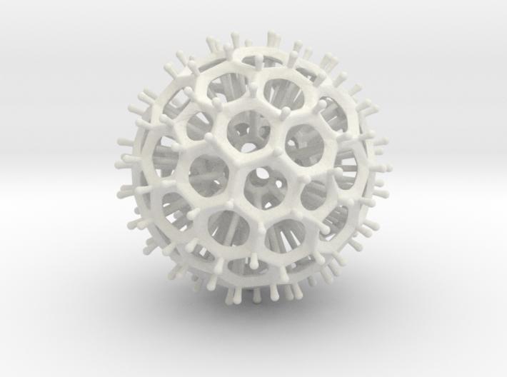 Radiolarian 3d printed
