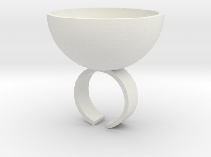 Shot Ring 3d printed