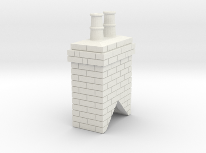 Chimney Stack 1 OO Scale 3d printed