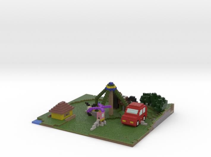 Karusell 3d printed