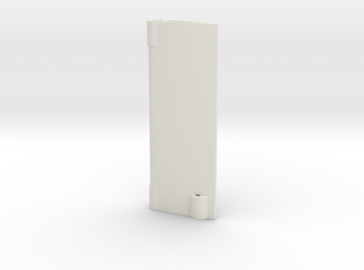 Rudder 3d printed