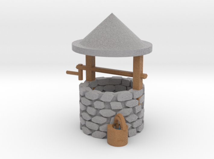 budget Wishing Well 3d printed