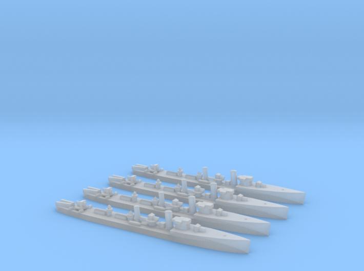 Admiralty S Class DD (Std) (1/2400) x4 3d printed