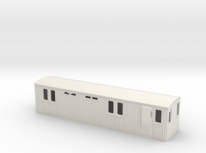 009 colonial luggage brake coach 3d printed