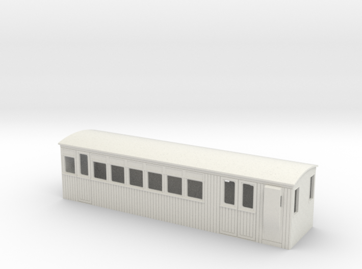 009 colonial 2nd saloon brake coach 3d printed