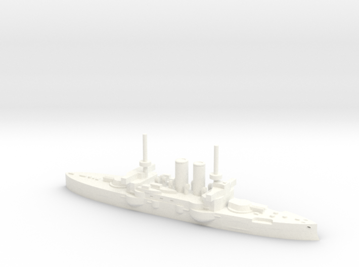 HMS Thunderchild in 1/1800 3d printed
