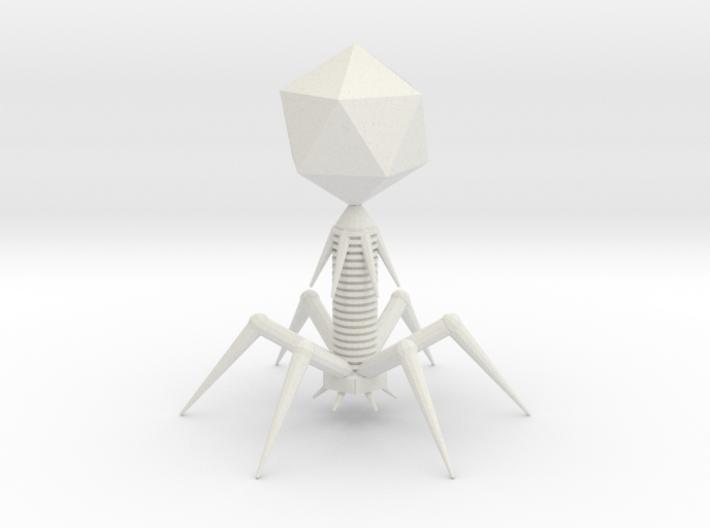 Bacteriophage T7 Model 3d printed