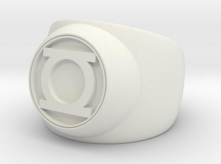 Green Lantern Ring- Size 5 3d printed