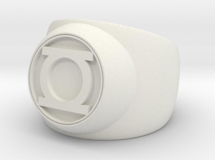 Green Lantern Ring- Size 11.5 3d printed