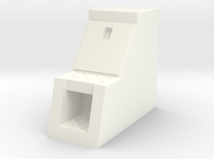 """1/50th Scale 12"""" frame mount truck tool Box 3d printed"""