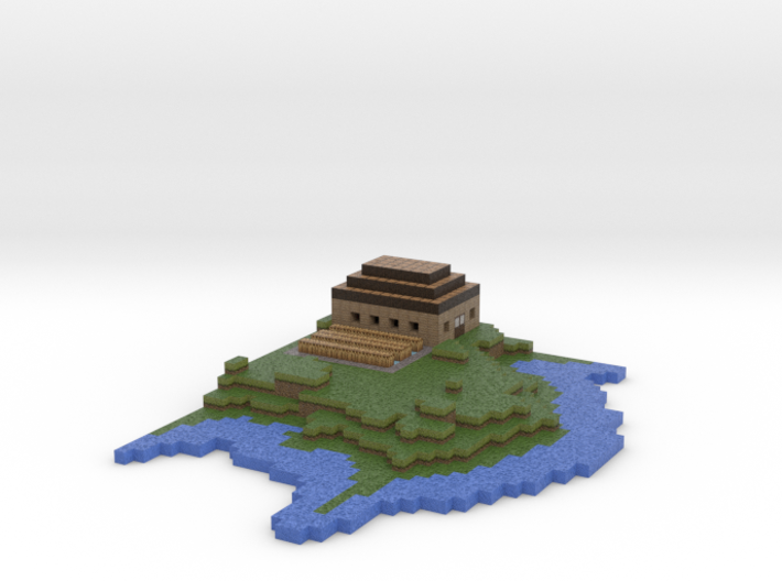 Island version two 3d printed