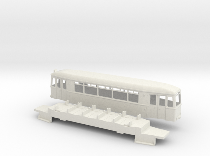 Essen Bw 2901 Straßenbahn 3d printed