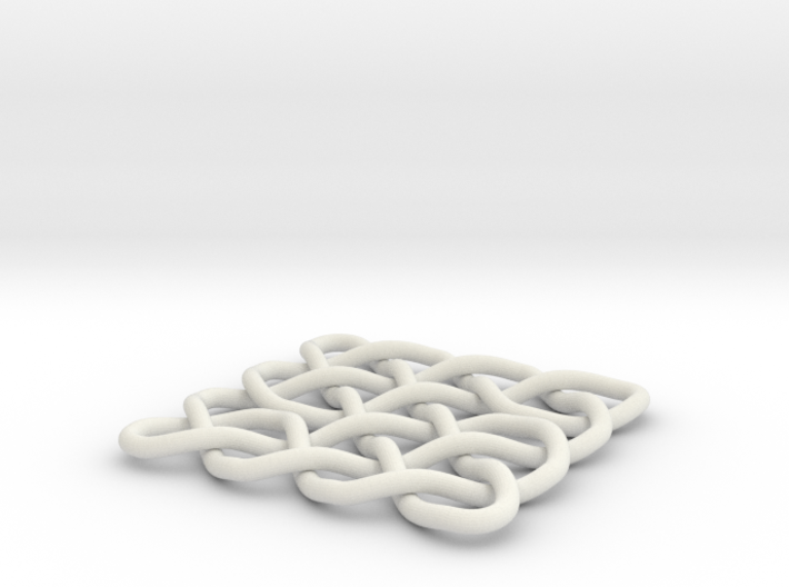 Celtic Knot 2D, seed 12 3d printed