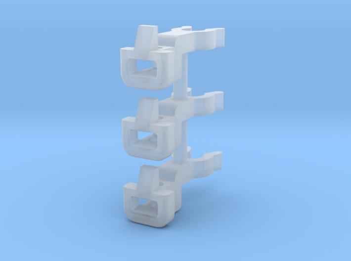 H0e - kurze Bosnakupplung für Roco HF 110 3d printed