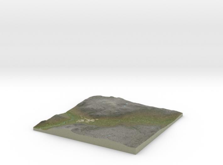 Terrafab generated model Sat Mar 01 2014 09:46:21 3d printed