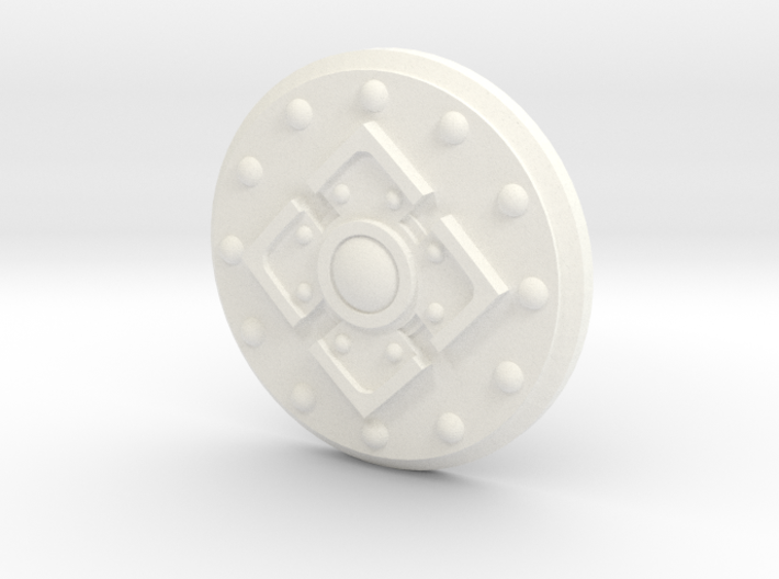 King's Shield 3d printed
