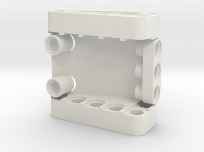 Curved 5x5x2 3d printed