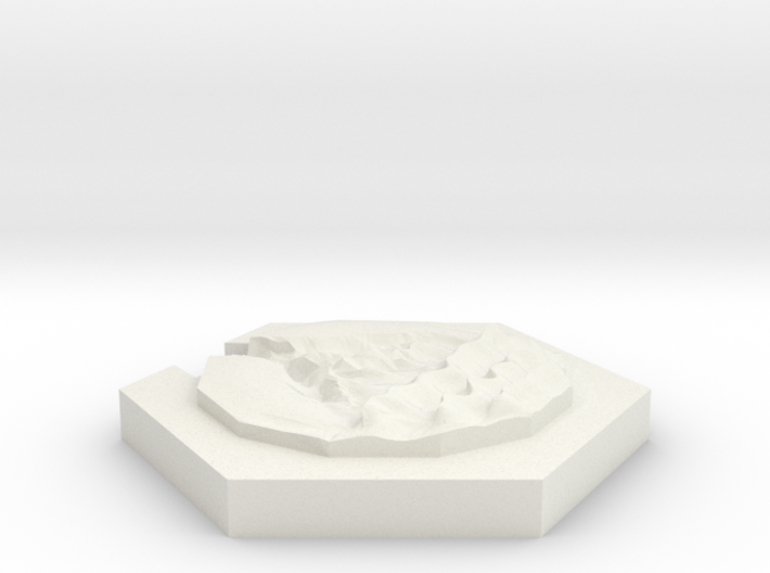 River (beach) 3d printed