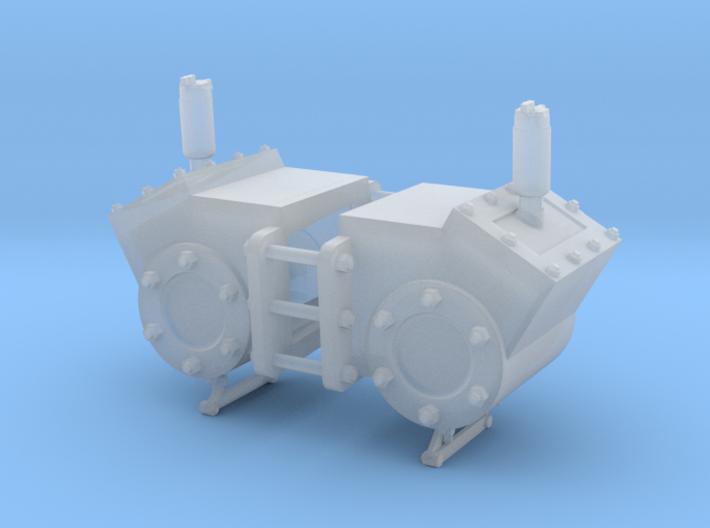 Zylinder, Decauville Typ 1, 1:22,5 3d printed