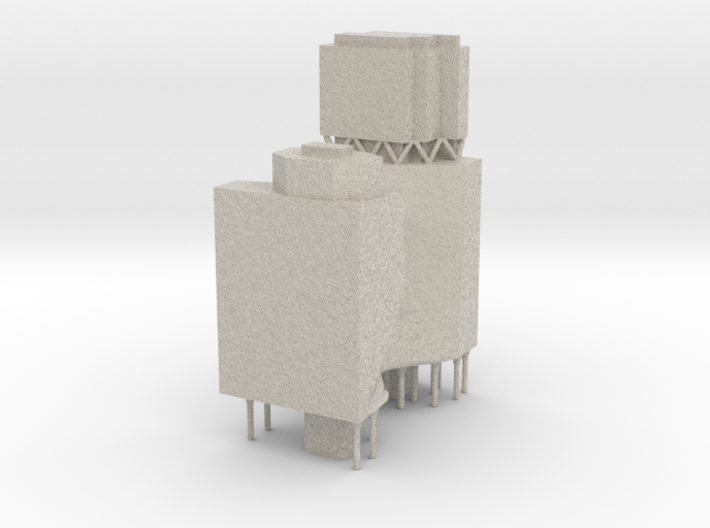 Carlton and United Brewery Redevelopment - Ashton 3d printed