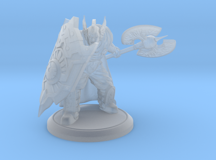 Pigeon, Paladin Protector of the Forlorn - 28 mm 3d printed
