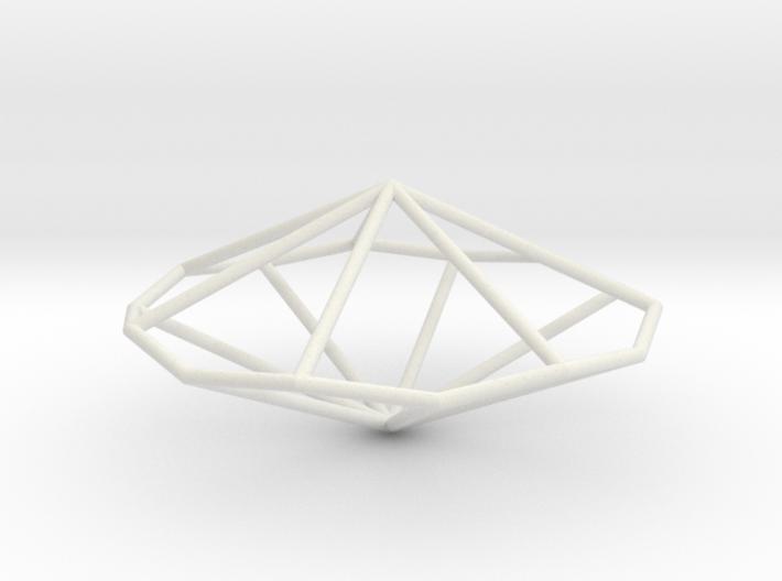 HeptagonalTrapezohedron 70mm 3d printed