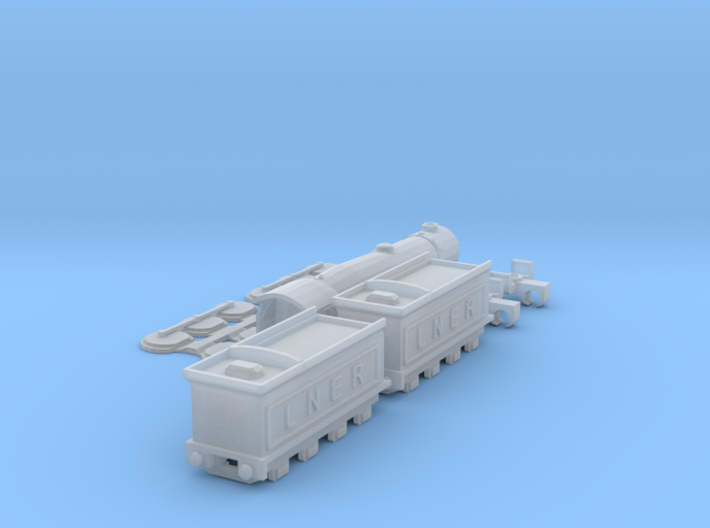 Flying Scotsman T-Gauge - Uses Eishindo Wheels 3d printed